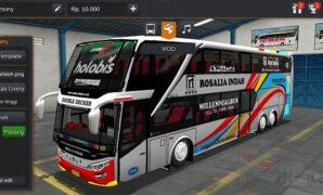 Bus Rosalia Indah Double Decker Full Anim