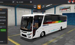 Bus Sinar Jaya Ecoline Full Anim