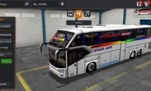 Bus Sinar Jaya Avante H9 Tronton Full Anim