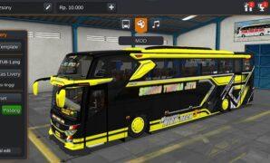 Bus Sudiro Tungga Jaya Lasamba Full Anim