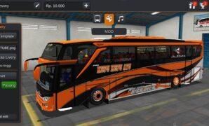 Bus Kupu Kupu Ayu JB3+ HDD Full Anim