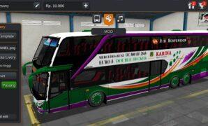 Bus Karina Double Decker Full Anim