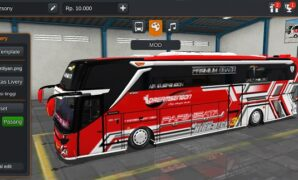 Bus Dream Sengon Versi Mercy Full Anim