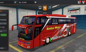 Bus Sedya Mulya JB3+ SHD Hino Full Anim
