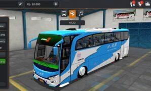 Bus PMH JBHD Full Anim + Penumpang