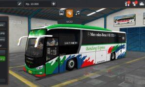 Bus Bandung Express + Penumpang dan Kernet (Full Anim)