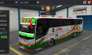 Bus NPM Trisakti Titanium Full Anim