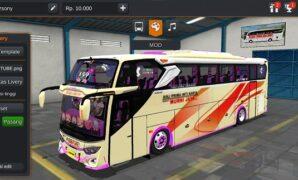 Bus Murni Jaya JB3+ Hino RK Full Anim