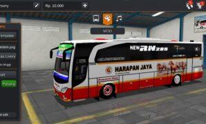 Bus Harapan Jaya JBHD Full Anim