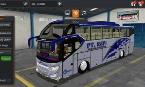 Bus PT. Rapi SR2 XHD Full Anim
