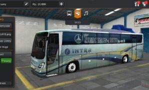 Bus Intra Euroliner Full Anim + Penumpang