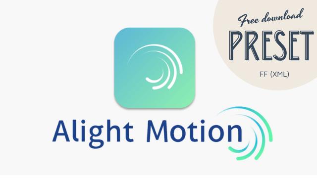 preset alight motion ff gratis