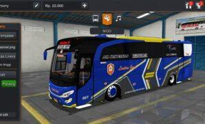 Bus Lantra Jaya JBHD Full Anim