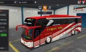 Bus Tunggal Dara JB3+ Hino RK Full Anim