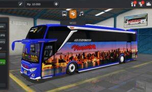 Bus Nusantara Ceper JB3+ Mercy Full Anim