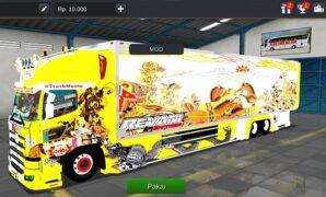 Truck Hino Profia Box Modifikasi Full Anim
