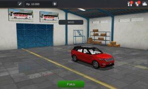 Mobil Range Rover Velar Full Anim