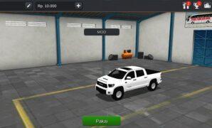 Mobil Toyota Tundra TRD Full Anim