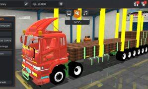 Truck Fuso Long Chasis Full Muatan