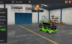 Mobil Angkot Modif Monster Energy Full Anim