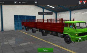 Truck Gandeng Full Anim