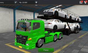 Truck Hino Muatan Mobil Full Anim