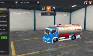 Truck Canter Tangki Full Anim