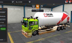 Truck Fuso TG Kapsul C20 Kotor Full Anim