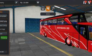 Bus Juragan 99 Road Runner Scania Trans Jawa