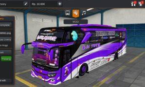 Bus SJM Trans Ratu Maher JB3+ Hino Full Anim