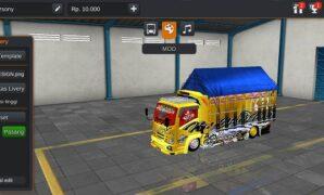 Truck Isuzu Black Team Full Anim