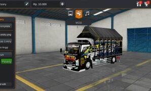 Truck Isuzu Giga Bos Galak Full Anim