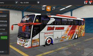 Bus Best Premium JB3 Hino RK Full Anim