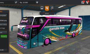 Bus Garuda Mas JB3+ SHD Full Anim
