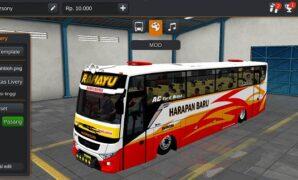 Bus Harapan Baru Bumel Full Penumpang + Animasi