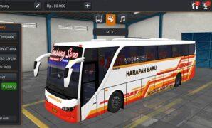 Bus Harapan Baru OLD Setra Full Anim