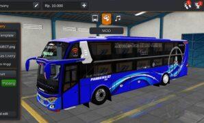 Bus Pandawa 87 Dream Coach Full Anim