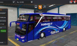Bus Pandawa 87 Sangkuriang Full Anim