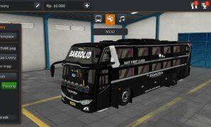 Bus New Shantika Dream Coach Full Anim