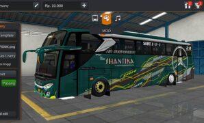 Bus New Shantika Kiwami MHD Full Anim