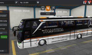 Bus New Shantika SHD Mercy Full Anim