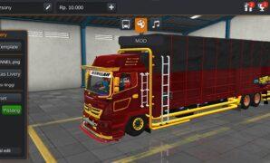 Truck Hino 500 C23 Full Anim