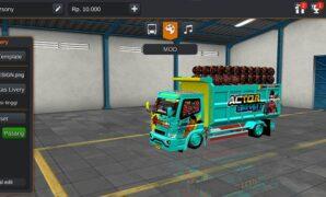 Truck Canter Antobolo Muatan Sawit Full Anim