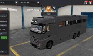Truck Mercedes Benz Motorhome Full Anim