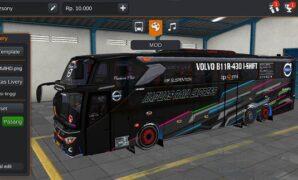 Bus Kapuas Raya Express Tronton Volvo Full Anim