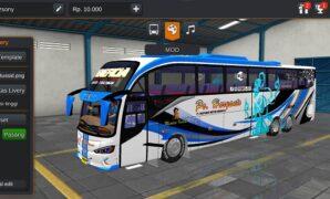 Bus PO. Haryanto Evolander Tronton Scania