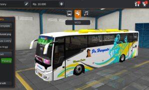 Bus PO Haryanto Scorpion Full Anim