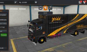 Truck Hino Box TAM Cargo Livery Terbaru