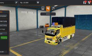 Truck Canter Standard Sumatra Full Anim