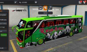 Bus Restu Panda JB3+ Gen Full Anim